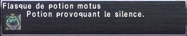 Potion motus