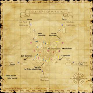 Map 2 - The Shrine of Ru'Avitau