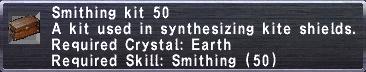 Smithing Kit 50