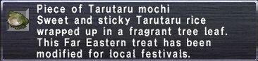 Tarutaru mochi