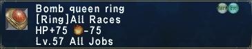 Bomb Queen Ring