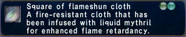 Flameshun cloth