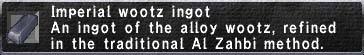 Imperial Wootz Ingot