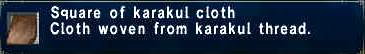 Karakul Cloth