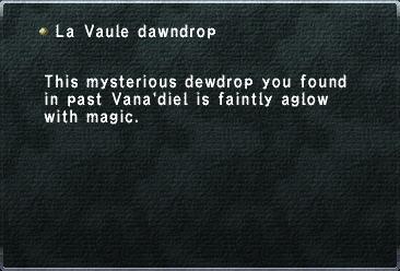 La Vaule Dawndrop