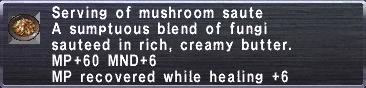 MushroomSaute