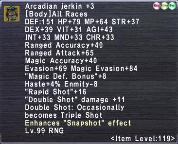 Arcadian Jerkin +3