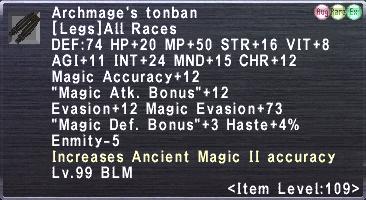 Archmage's tonban
