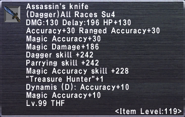 Assassin's Knife