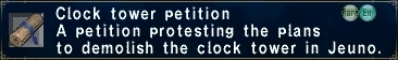 ClockTowerPetition
