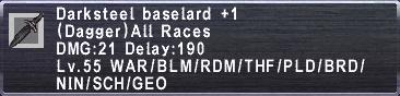 Darksteel Baselard Plus 1