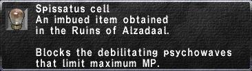 Spissatus Cell
