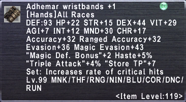 Adhemar Wristbands +1