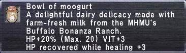 Bowl of moogurt