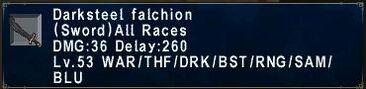 Darksteel Falchion