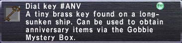Dial Key ANV