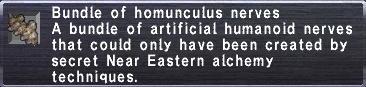 Homunculus Nerves
