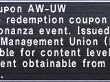 Kupon AW-UW