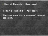 Map of Dynamis - Xarcabard