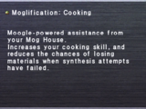 Moglification: Cooking
