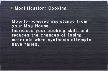 Moglification Cooking