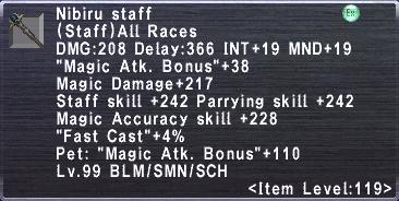 Nibiru staff