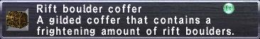 Rift Boulder Coffer