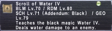 Scroll of Water IV