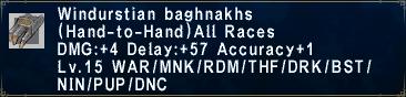 Windurstian Baghnakhs