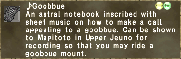 ♪Goobbue