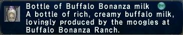 Buffalo Bonanza Milk
