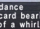 Wieldance Card