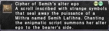 Cipher-Semih