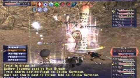 FFXI NM Saga 308 Sallow Seymour RNM Full Battle
