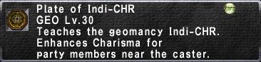 Indi-CHR