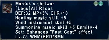 Marduk's Shalwar