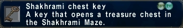 Shakrami Chest Key