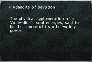Atmacite of Devotion