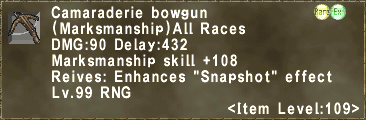 Camaraderie bowgun