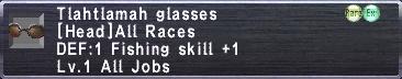 Tlahtlamah Glasses