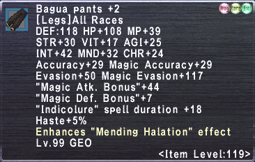 Bagua Pants +2