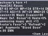 Beckoner's Horn +1