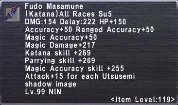 Fudo Masamune