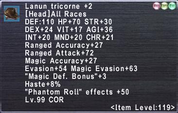 Lanun tricorne +2
