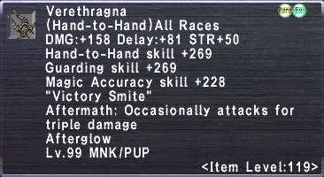 Verethragna (Level 119 III)