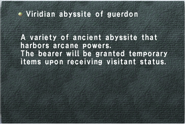 Viridian Abyssite of Guerdon
