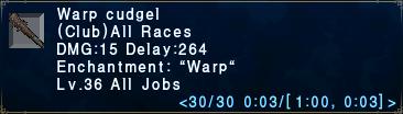 Warp cudgel
