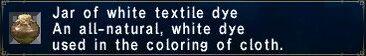White textile dye