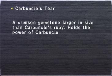Carbuncles Tear