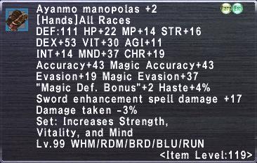 Aynamo Manopolas +2